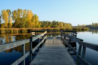 Autumn Colors and a Fishing Dock