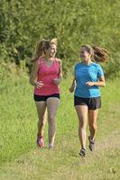 Zwei Frauen beim Joggen
