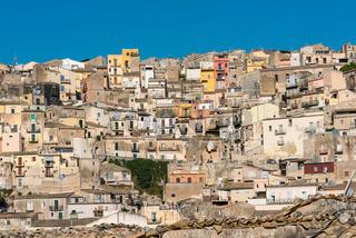 Teil der Altstadt von Ragusa Ibla, Sizilien