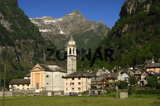 Sonogno, Valle Verzasca,Tessin, Schweiz