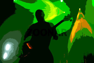 rocking bass shadow