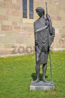 Steinfigur in Beutelsbach