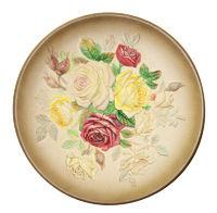 Decorative Rose  Plate