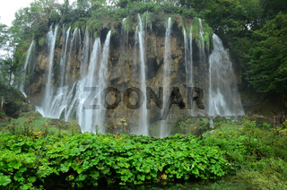 Wasserfall, Plitvicer Seen, Nationalpark, Kroatien,