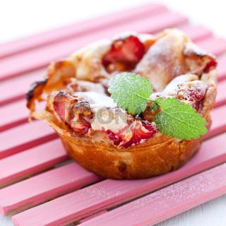 Clafoutis mit Erdbeere