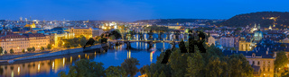 Prague panorama city skyline