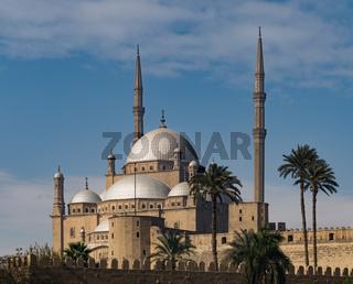 The great Mosque of Muhammad Ali Pasha, Cairo, Egypt