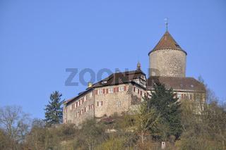 Burg Reichenberg im Murrtal zwischen Sulzbach und Backnang
