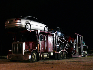 US-Autotransporter - US-Car Transporter