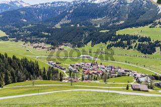 Zoeblen, Tannheimer Tal, Tirol, Oesterreich
