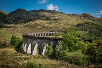 View at Glenfinnan Viaduct