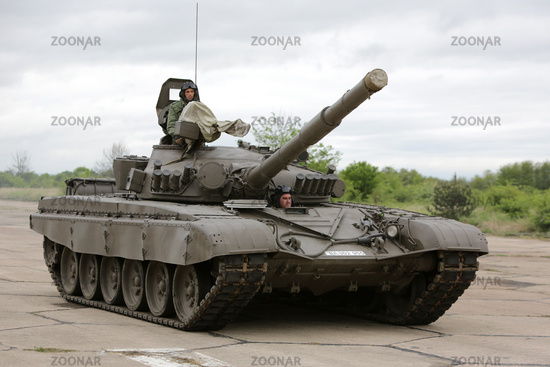Bulgarian army battle tank