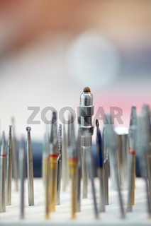 Werkzeuge in der Zahnmedizin