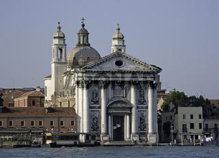 Baroque church Gesuati, Venice