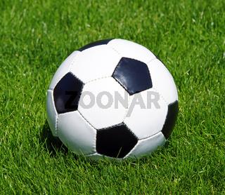 Fußball und Rasen