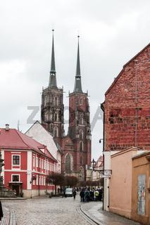 Unterwegs in Breslau