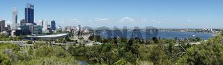 Skyline von Perth, Australien