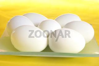 Hartgekochte Eier