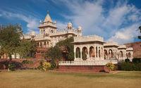 Jaswant Thada. Beautiful palace