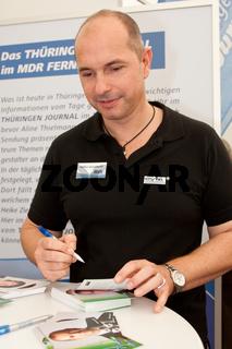 Moderator Steffen Quasebarth