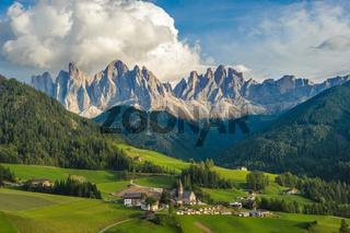 Santa Maddalena Village and the Dolomites, Val di Funes, Italy