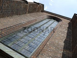 Backsteingotik - Grosses Fenster in der Marktkirche zu Hannover