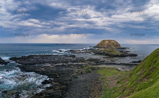 Küstenlandschaft auf Phillip Island, Victoria, Australien