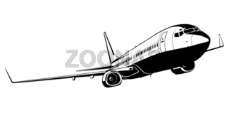 boeing 737 silhouette