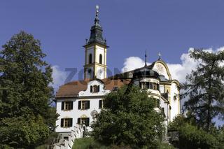 Kreuzbergkirche und Kloster Pleystein