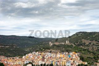 Bosa in Sardinien