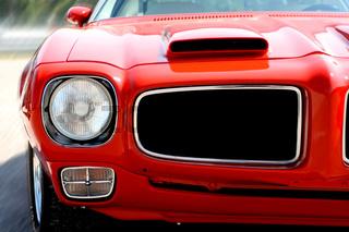 Red US Car