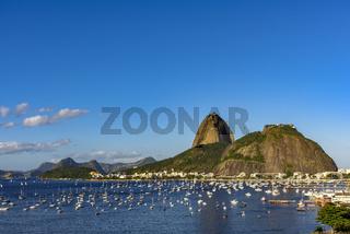 Suga Loaf and Botafogo beach