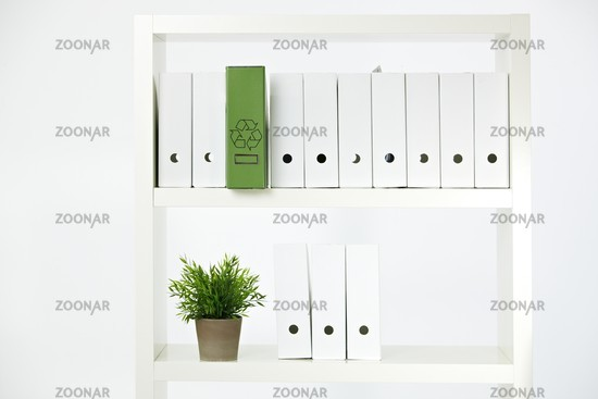Environmental conservation in office