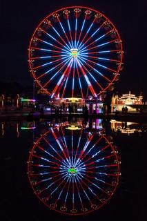 Riesenrad - Herbstmesse Luzern, Schweiz, Europa