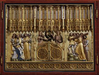 Biblische Darstellungen auf dem Kreuzaltar - Münster Bad Doberan