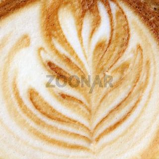 Cappuccino Nahaufnahme