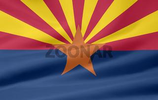 Flagge von Arizona - USA
