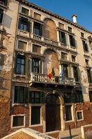 Palazzo Foscarini building located at Venice, Italy