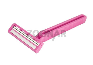 Twin blades for a comfortable shave for female