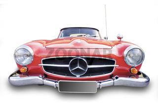 Oldtimer, 'Mercedes 190 SL' Baujahr 1962 - Oldtimer, 'Mercedes 190 SL' year of construction 1962