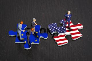 Beziehungen zwischen Europa und den USA