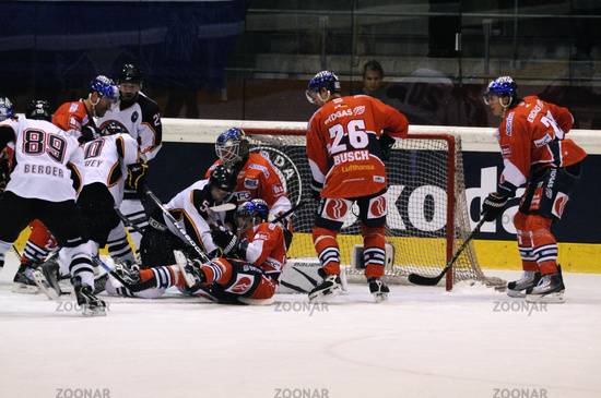 Hockey game Eisbaeren Berlin vs. SC Bern