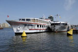 Britannia und Esmeralda in Amsterdam