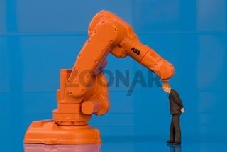 Symbolbild Arbeitsbelastung, Automatisation