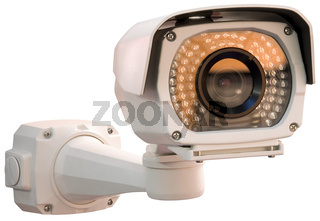 Security camera cutout