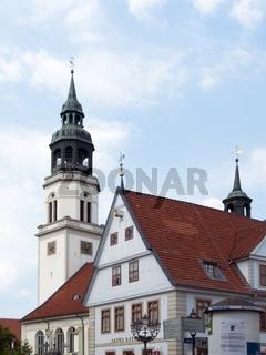 Altes Rathaus und Marienkirche (Stadtkirche) zu Celle