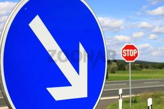 Strassenschild/ traffic sign