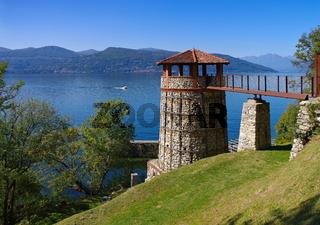 Ispra Kalkofen Port del Pinet, Lago Maggiore - Ispra, the old Lime kiln Port del Pinet, Lago Maggiore