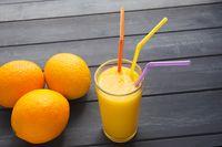 Organic Oranges and Juice