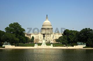 Westseite des Kapitols, Washington, DC., USA